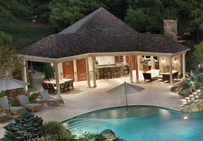 house plans with pools and outdoor kitchens moonlight serenade aquatic technology pool amp spa 27736