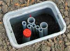 going underground aquatic technology pool spa creating water rh aquatictechnology com underground wiring box underground wiring junction boxes