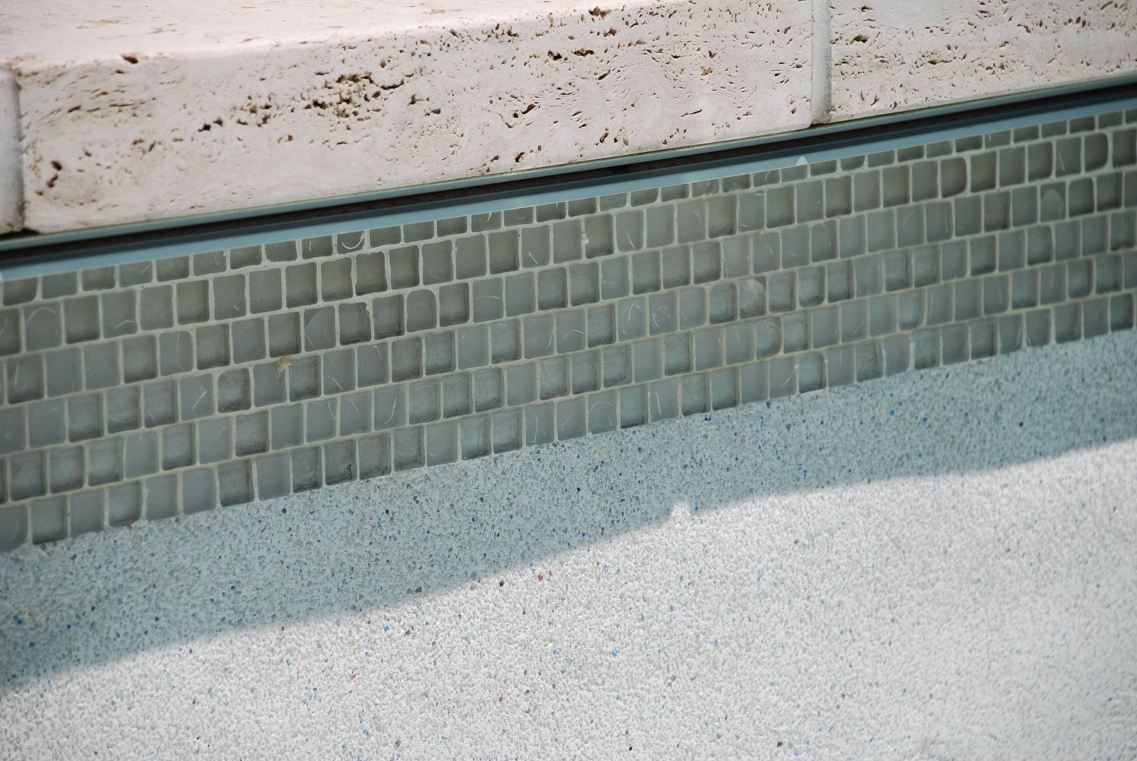 Failure of Glass Mosaic Tile | Aquatic Technology Pool & Spa ...
