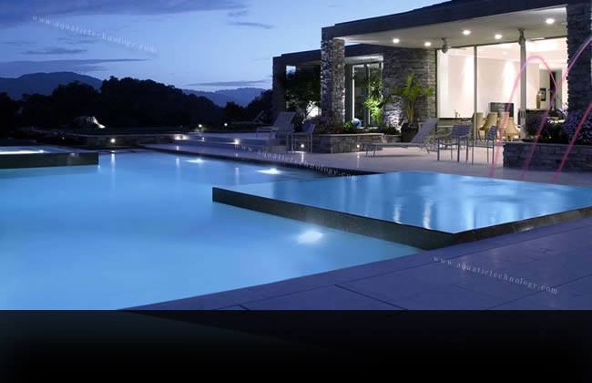Gallery of Work | Aquatic Technology Pool & Spa | Creating water as ...
